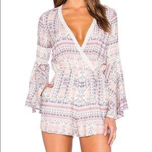 L*Space Boho Lovestruck Rimini Romper Cover-Up